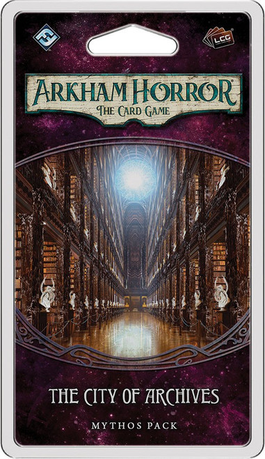 Arkham Horror The Card Game The Forgotten Age The City of Archives Mythos Pack