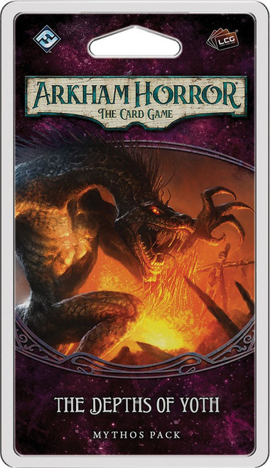 Arkham Horror The Card Game The Forgotten Age The Depths of Yoth Mythos Pack