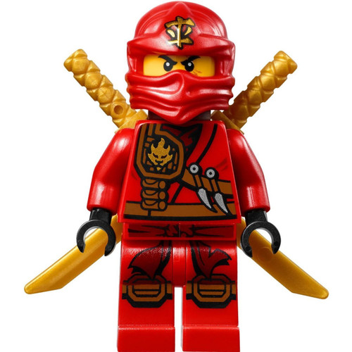 LEGO Ninjago Kai Minifigure [Scabbard with 2 Gold Katanas Loose]