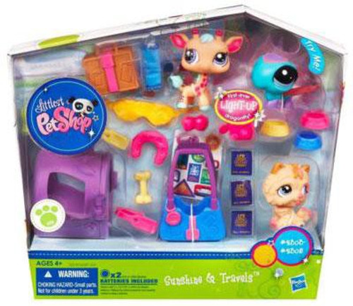 Littlest Pet Shop Sunshine & Travels Playset [Light-up Dragonfly]
