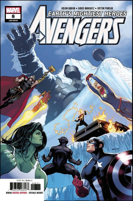 Marvel Comics Avengers #8 Comic Book