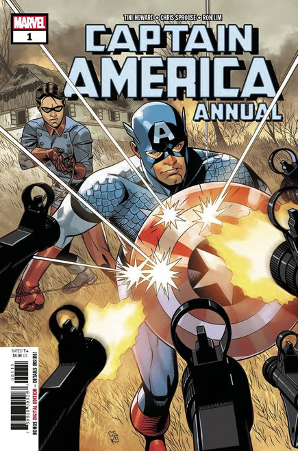 Marvel Comics Captain America #1 Annual Comic Book