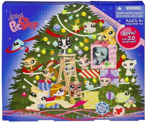 Littlest Pet Shop 2009 Advent Calendar Exclusive Figure Set