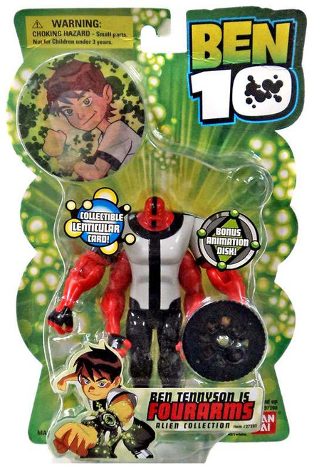 Ben 10 Alien Collection Series 1 Four Arms Action Figure