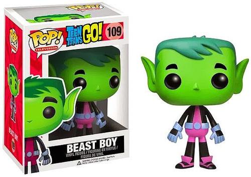 Funko Teen Titans Go! POP! TV Beast Boy Vinyl Figure #109 [Damaged Package]