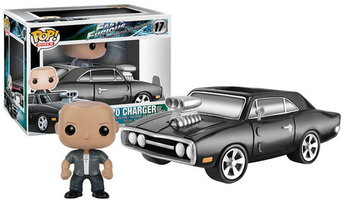 Funko Fast & Furious POP! Rides 1970 Charger with Dom Toretto Vinyl Figure #17 [Damaged Package]