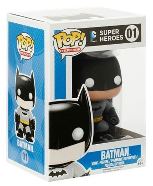 DC Universe Funko POP! Heroes Batman Vinyl Figure #01 [Grey Suit, Damaged Package]