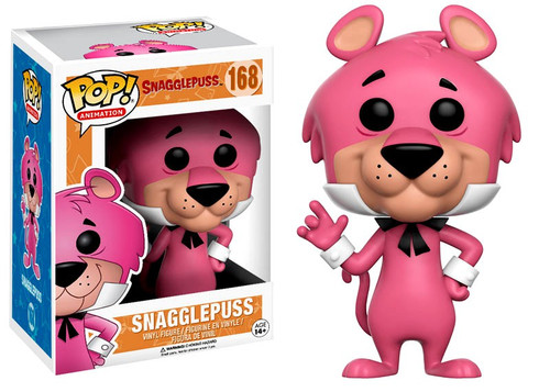 Funko Hanna-Barbera POP! TV Snagglepuss Vinyl Figure #168 [Dark Pink Regular Version, Damaged Package]