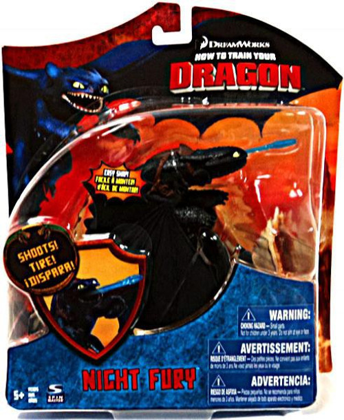 How to Train Your Dragon Series 3 Deluxe Night Fury Action Figure [Toothless, Loose]