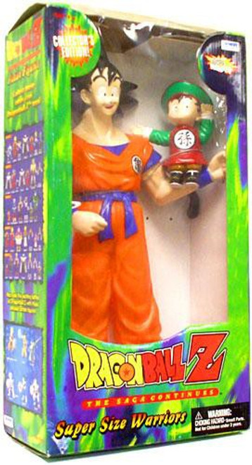 Dragon Ball Z Super Size Warriors Goku & Gohan 18-Inch Figure Set [Damaged Package]