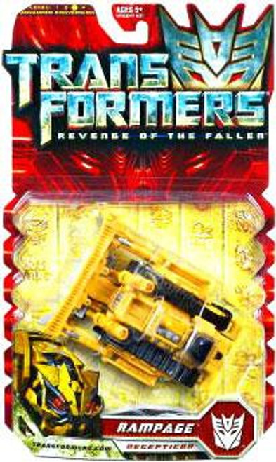 Transformers Revenge of the Fallen Rampage Deluxe Action Figure [Yellow, Damaged Package]