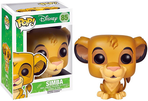 Funko The Lion King POP! Disney Simba Vinyl Figure #85 [Damaged Package]
