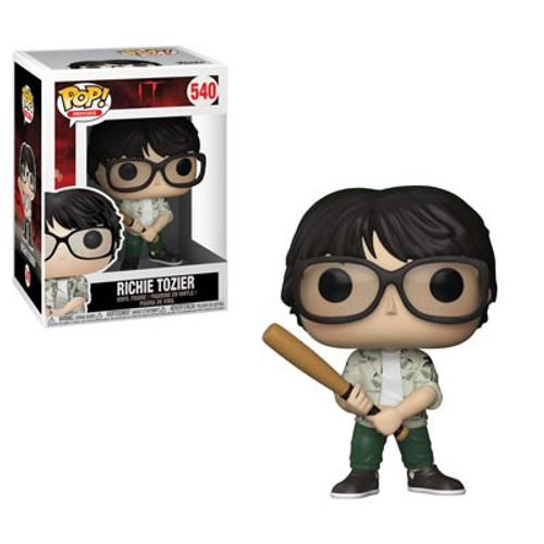 Funko IT POP! Movies Richie Tozier Vinyl Figure #540 [Holding Bat, Damaged Package]
