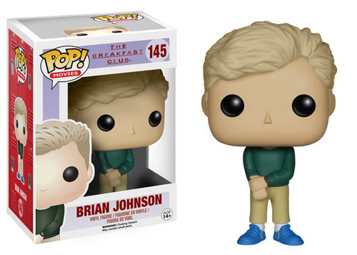 Funko The Breakfast Club POP! Movies Brian Johnson Vinyl Figure #145 [Damaged Package]