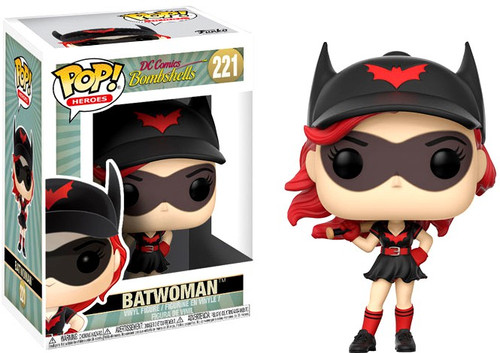 Funko DC Bombshells POP! Heroes Batwoman Vinyl Figure #221 [Damaged Package]
