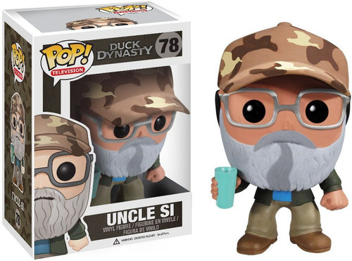 Funko Duck Dynasty POP! TV Si Robertson Vinyl Figure #78 [Damaged Package]