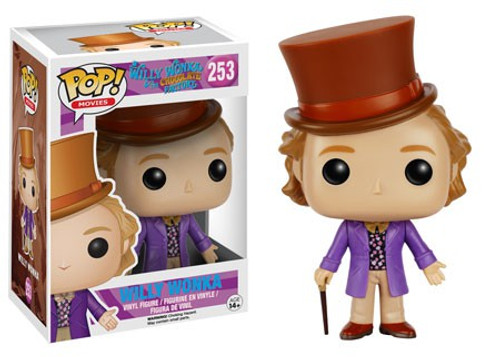 Funko Willy Wonka & The Chocolate Factory POP! Movies Willy Wonka Vinyl Figure #253 [Damaged Package]