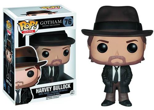 Funko DC Gotham POP! Heroes Harvey Bullock Vinyl Figure #76 [Damaged Package]