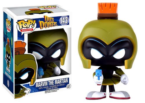 Funko Duck Dodgers POP! Animation Marvin the Martian Vinyl Figure #143 [Damaged Package]