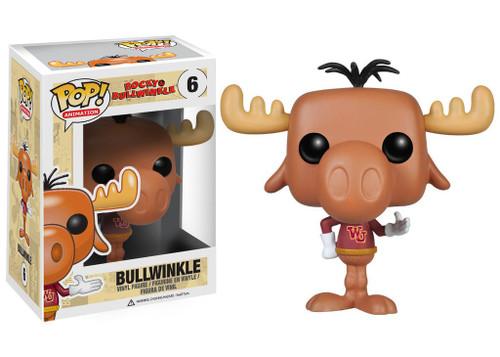 Funko Rocky & Bullwinkle POP! Animation Bullwinkle Vinyl Figure #06 [Damaged Package]