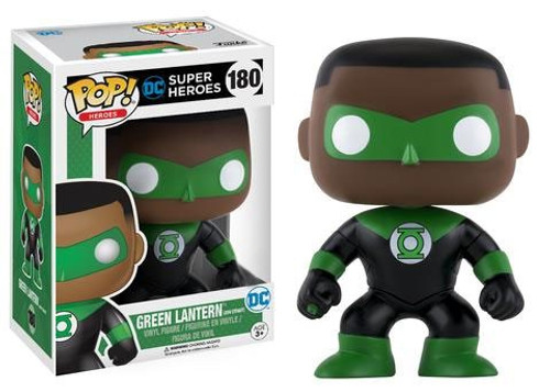 Funko DC Universe POP! Heroes Green Lantern Exclusive Vinyl Figure #180 [John Stewart, Damaged Package]