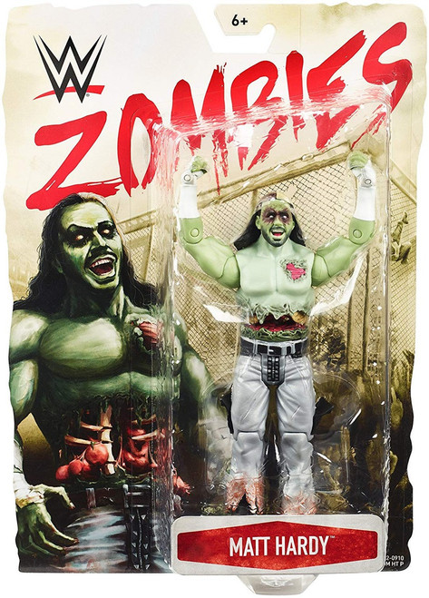 WWE Wrestling Zombies Matt Hardy Action Figure