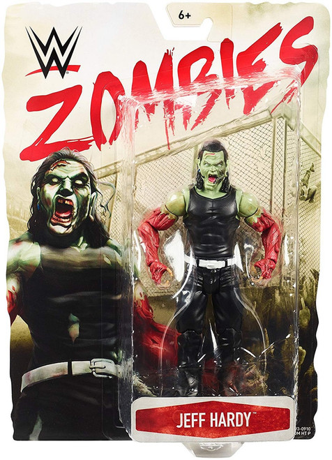 WWE Wrestling Zombies Jeff Hardy Action Figure