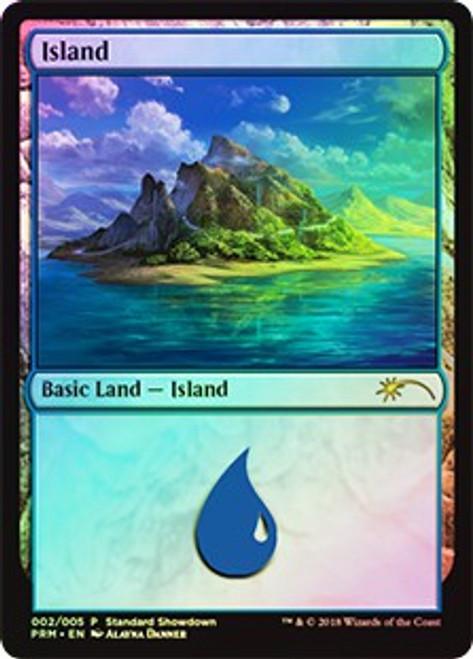 MtG Promo Cards Island #002 [Standard Showdown - Alayna Danner]
