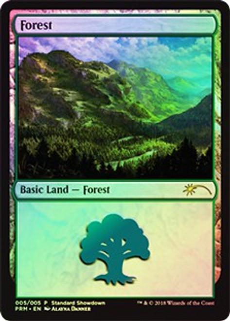 MtG Promo Cards Forest #005 [Standard Showdown - Alayna Danner]