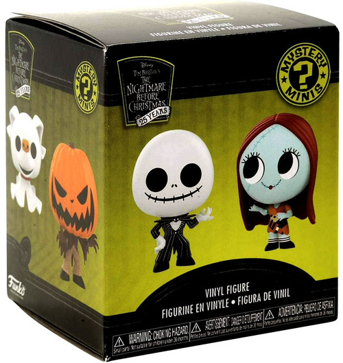 Funko Nightmare Before Christmas Mystery Minis NBX 25th Anniversary Series Mystery Pack