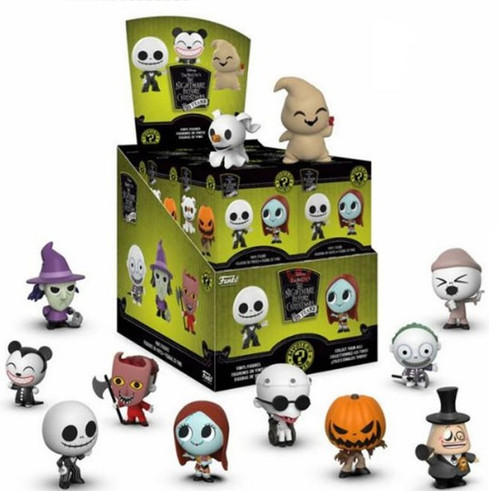Funko Nightmare Before Christmas Mystery Minis NBX 25th Anniversary Series Mystery Box [12 Packs]