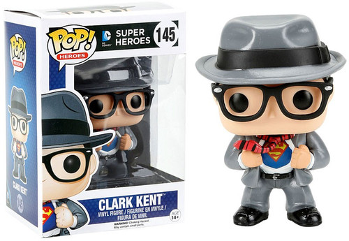Funko DC POP! Heroes Clark Kent Exclusive Vinyl Figure #145 [Damaged Package]