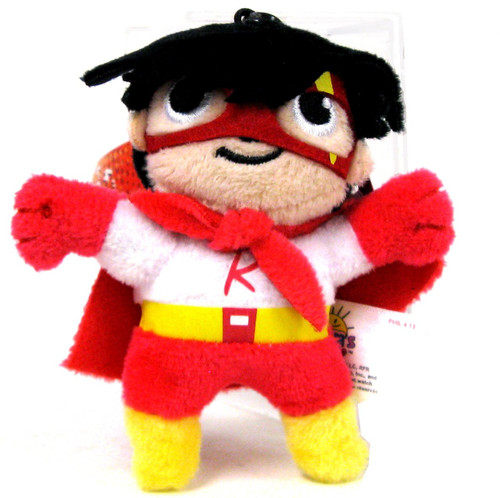 Ryan's World Red Titan 4-Inch Clip On Plush