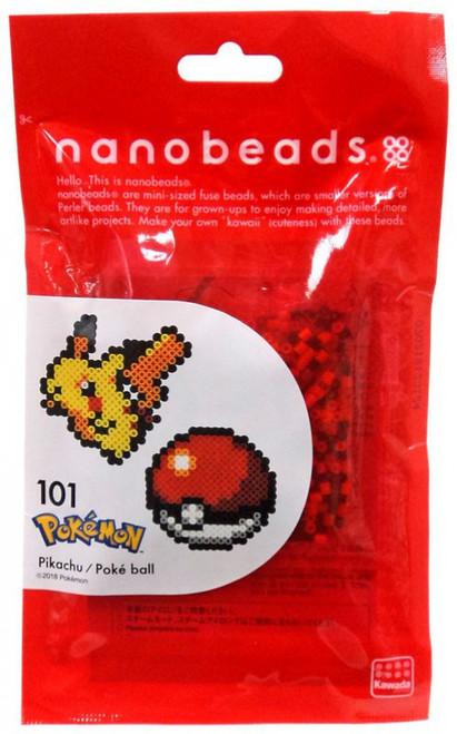 Nanobeads Pokemon Pikachu & Pokeball Craft Sprite Bead Set