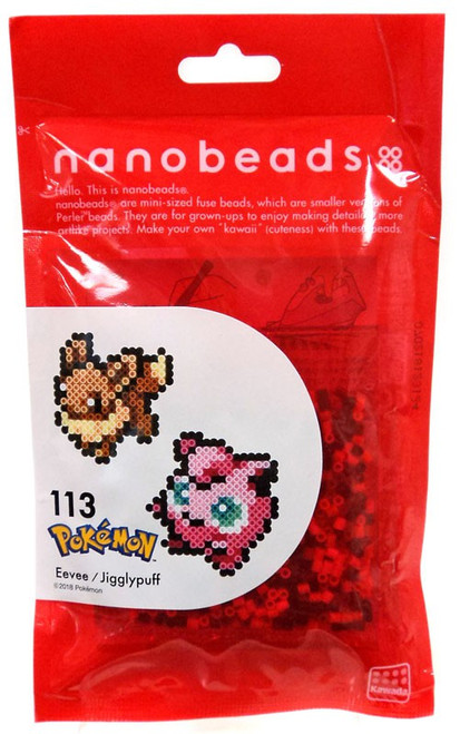 Nanobeads Pokemon Eevee & Jigglypuff Craft Sprite Bead Set