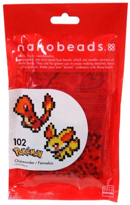 Nanobeads Pokemon Charmander & Fennekin Craft Sprite Bead Set