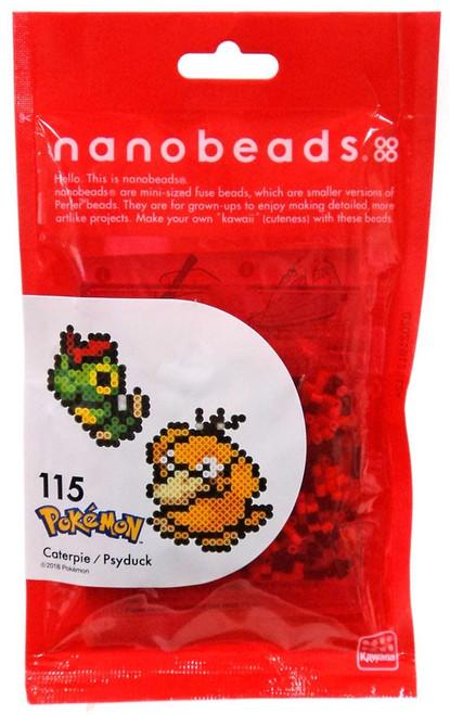 Nanobeads Pokemon Caterpie & Psyduck Craft Sprite Bead Set