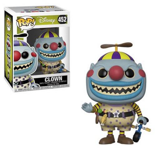 Funko Nightmare Before Christmas 25th Anniversary POP! Disney Clown Vinyl Figure #452