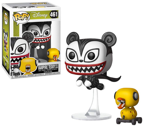 Funko Nightmare Before Christmas 25th Anniversary POP! Disney Vampire Teddy with Duck Vinyl Figure #461