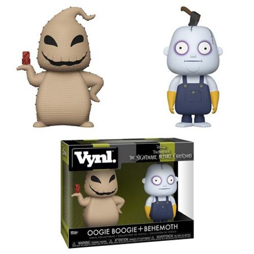 Funko Nightmare Before Christmas 25th Anniversary Vynl. Oogie Boogie & Behemoth Vinyl Figure 2-Pack
