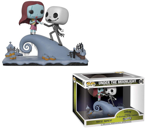 Funko Nightmare Before Christmas 25th Anniversary POP! Disney Under the Moonlight Vinyl Figure 2-Pack #458 [Movie Moments, Jack & Sally on the Hill]