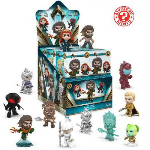 Funko DC Mystery Minis Aquaman Mystery Box [12 Packs]