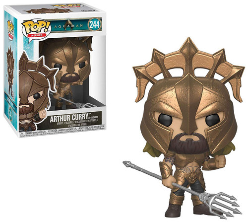 Funko DC Aquaman Movie POP! Heroes Arthur Curry as Gladiator Vinyl Figure #244 [Regular]