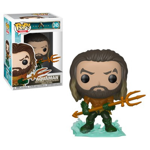 Funko DC Aquaman Movie POP! Heroes Aquaman Vinyl Figure #245 [Arthur Curry in Hero Suit]