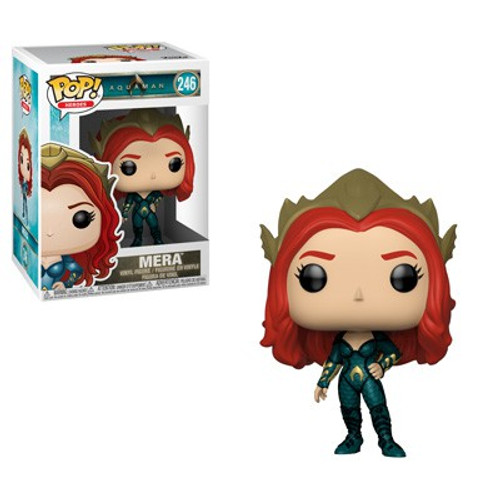 Funko DC Aquaman Movie POP! Heroes Mera Vinyl Figure #246 [Green Outfit]