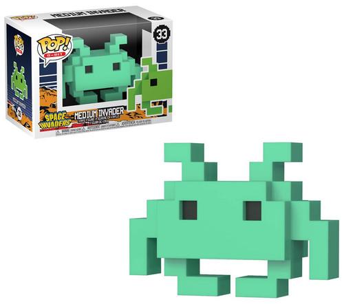 Funko Space Invaders POP! 8-Bit Medium Invader Exclusive Vinyl Figure #33 [Teal]