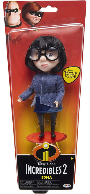 Disney / Pixar Incredibles 2 Edna 11-Inch Doll [Blue Fabric Top]