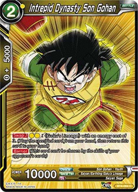 Dragon Ball Super Trading Card Game Colossal Warfare Common Intrepid Dynasty Son Gohan BT4-084