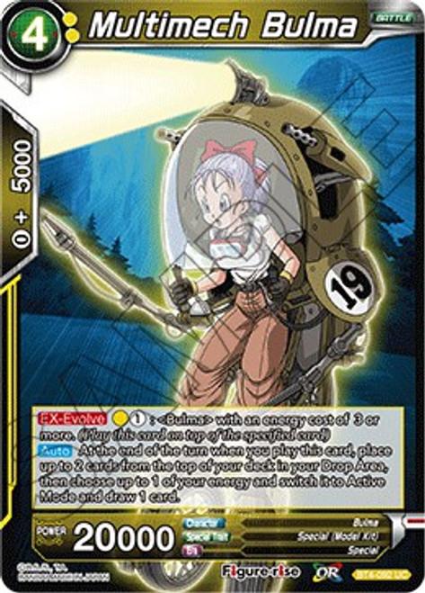 Dragon Ball Super Trading Card Game Colossal Warfare Uncommon Multimech Bulma BT4-092