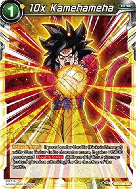 Dragon Ball Super Trading Card Game Colossal Warfare Uncommon 10x Kamehameha BT4-096